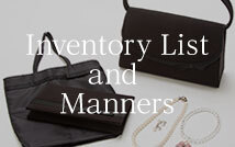Inventory List and Manners